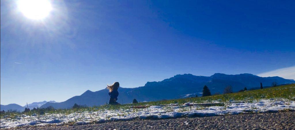 Yoga Auszeit Retreat Urlaub, Wochenende mit Inka für Entspannung, Kraft tanken, erholen in netter Yogagruppe